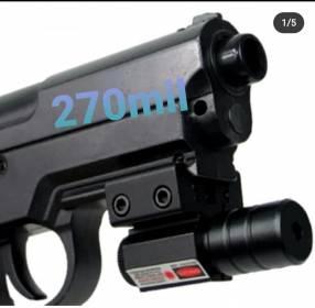 Puntero láser para pistolas de aire comprimido