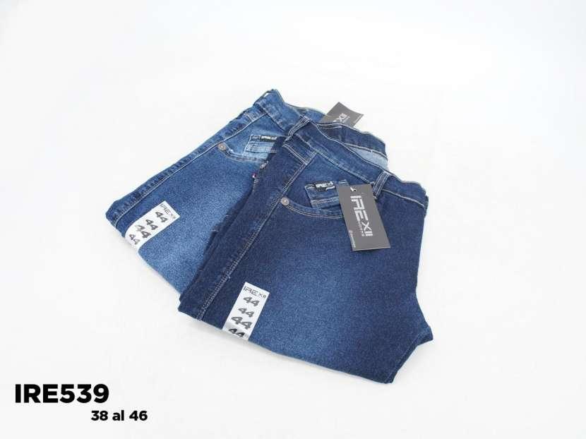Bermuda de jeans semi elastizado para caballero IRE539 - 1