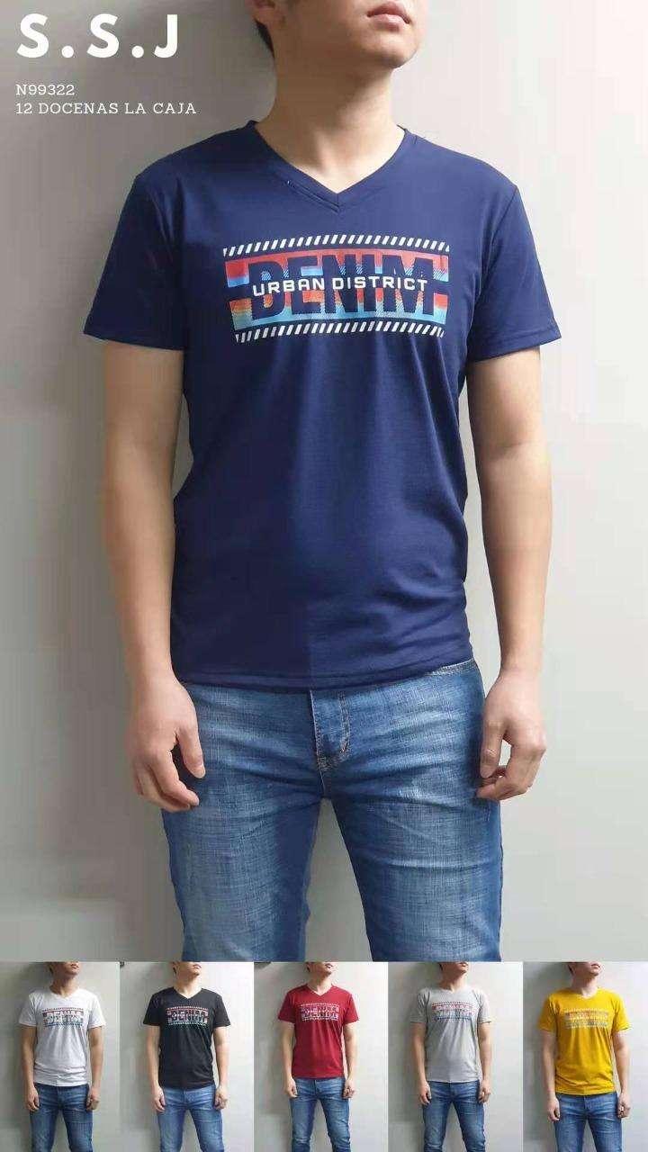 Remera para caballero diseños y colores variados SSJN99307 - 2