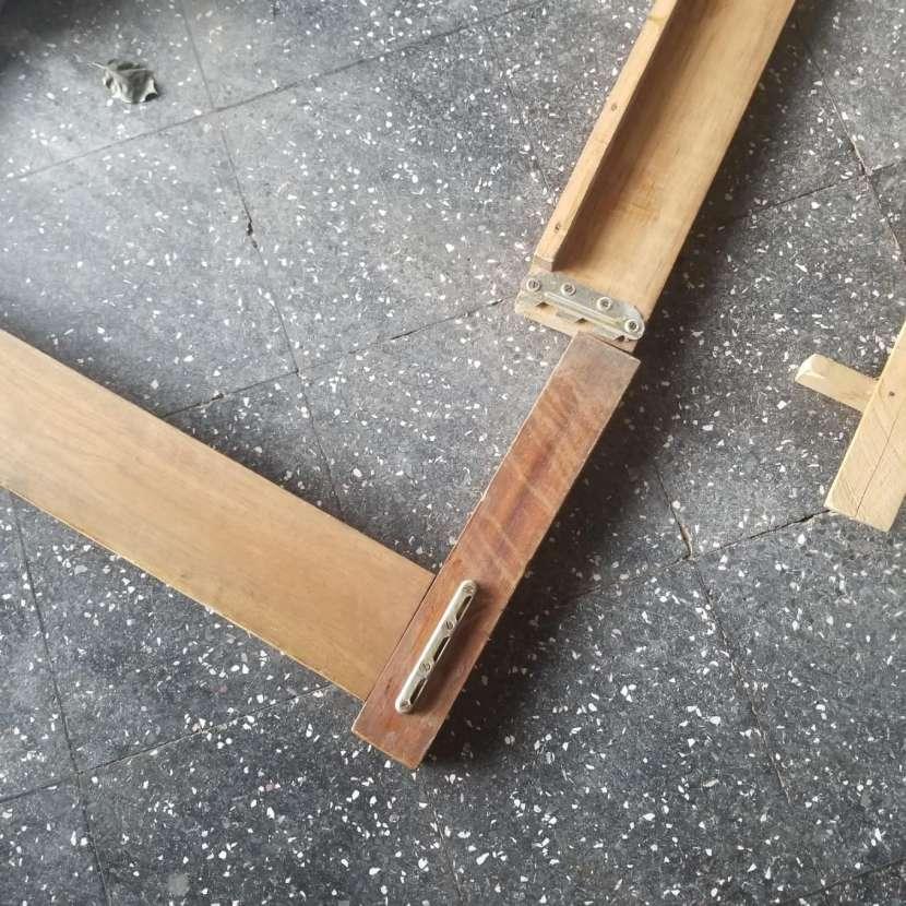 Cama individual madera maciza - 3