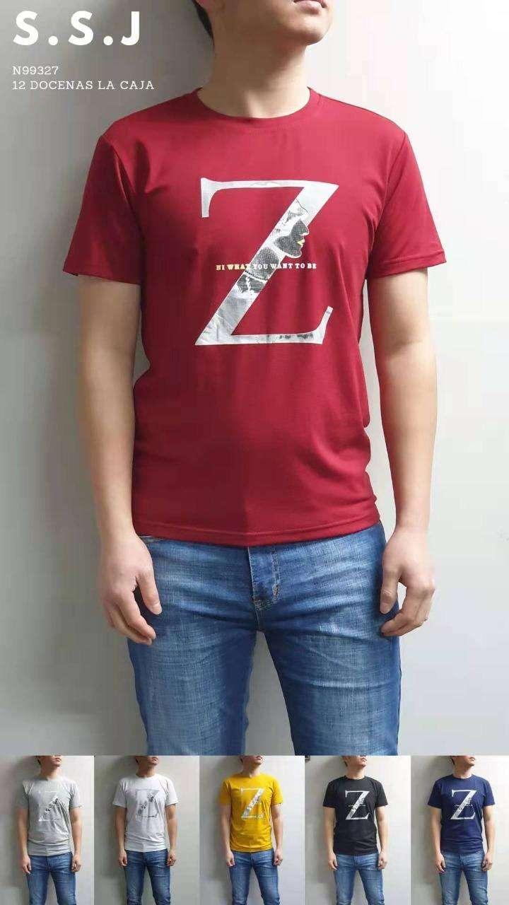 Remera para caballero diseños y colores variados SSJN99307 - 3