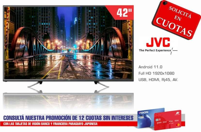 TV Smart LED JVC 42 pulgadas Full HD - 0
