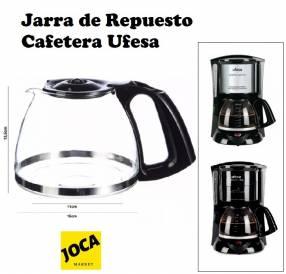 Jarra de repuesto para Cafetera Ufesa Avantis y Avantis Optima