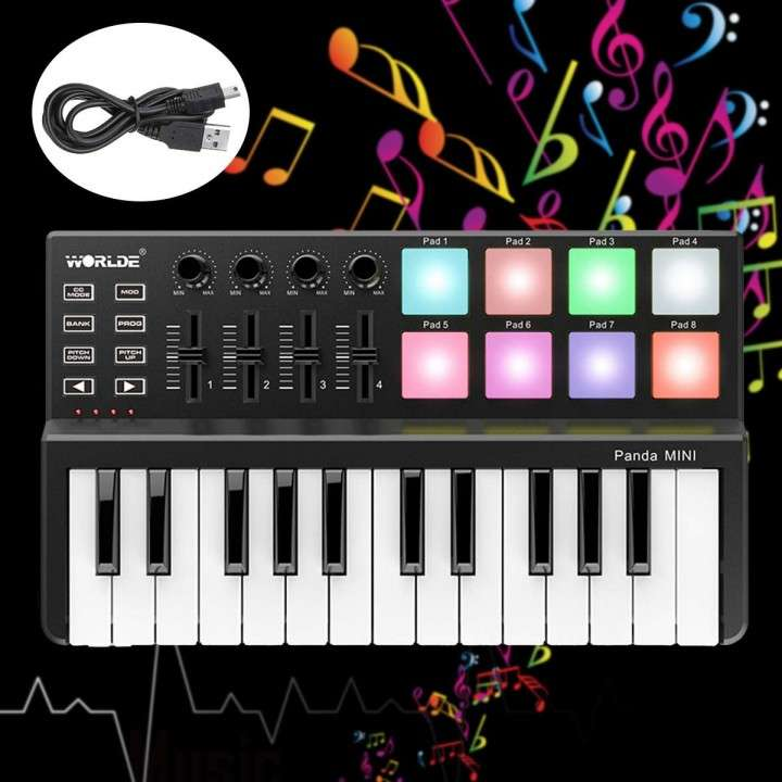 Controlador teclado Midi - 0