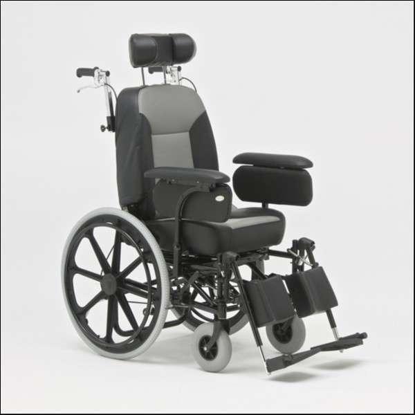Silla de ruedas con relajación Reca - 0