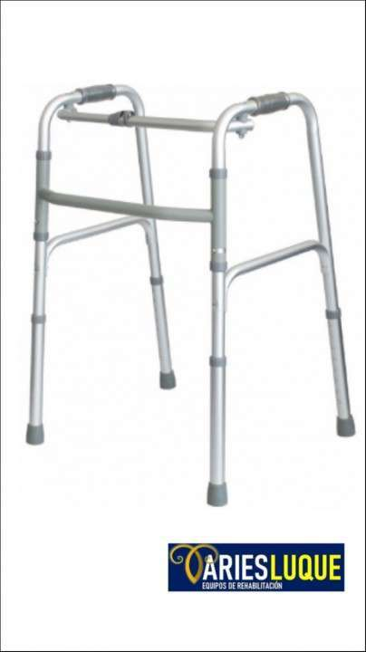 Andador sin ruedas plegable - 0