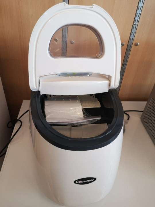 Fabricadora de hielo portátil de 2 kg Consumer (1466) - 5