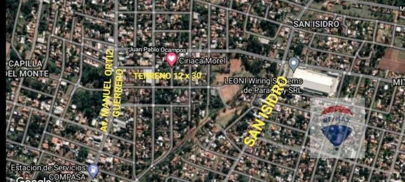 Terreno en San Lorenzo Barrio Villa Industrial - 0