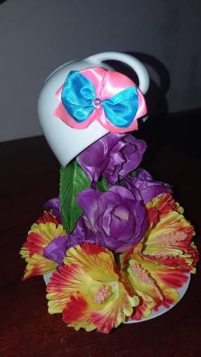 Cascada de flores para decoración