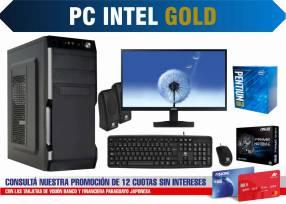 PC de escritorio Intel Gold 19 pulgadas