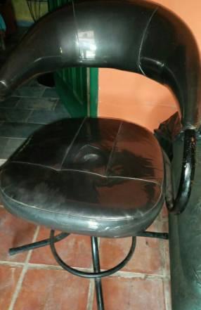 Sillón de peluquería + lavacabeza portátil