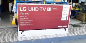 Smart TV LG UHD 4K de 75 pulgadas