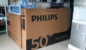 Smart TV Philips UHD 4K de 50 pulgadas + barra de sonido Philips de regalo