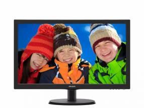 Monitor 22 pulgadas Philips 223V5LHSB2/55 fhd HDMI/VGA/5MS/60HZ negro bivolt