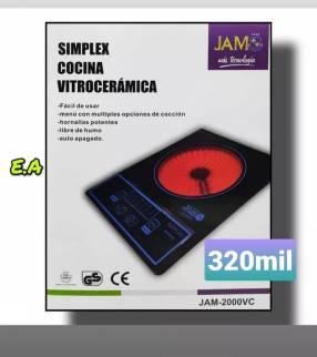 Cocina vitrocerámica simplex JAM