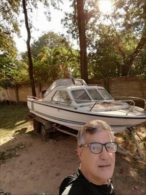 Lancha tipo crucero modelo Delta Mar casco argentino