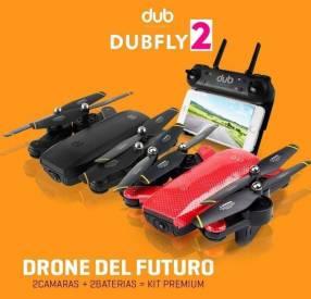 Drone con doble cámara