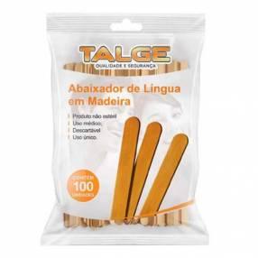 Baja lengua de madera uso médico 100 unidades