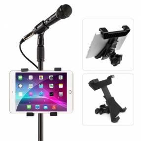 Soporte de tablet para pedestal de micrófono