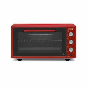Horno eléctrico Jam Sirius 45 litros rojo HE-45RD 300°C1400W 220/240V/50HZ 60039
