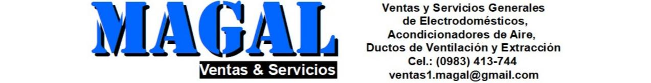Portada de Magal Ventas  & Servicios