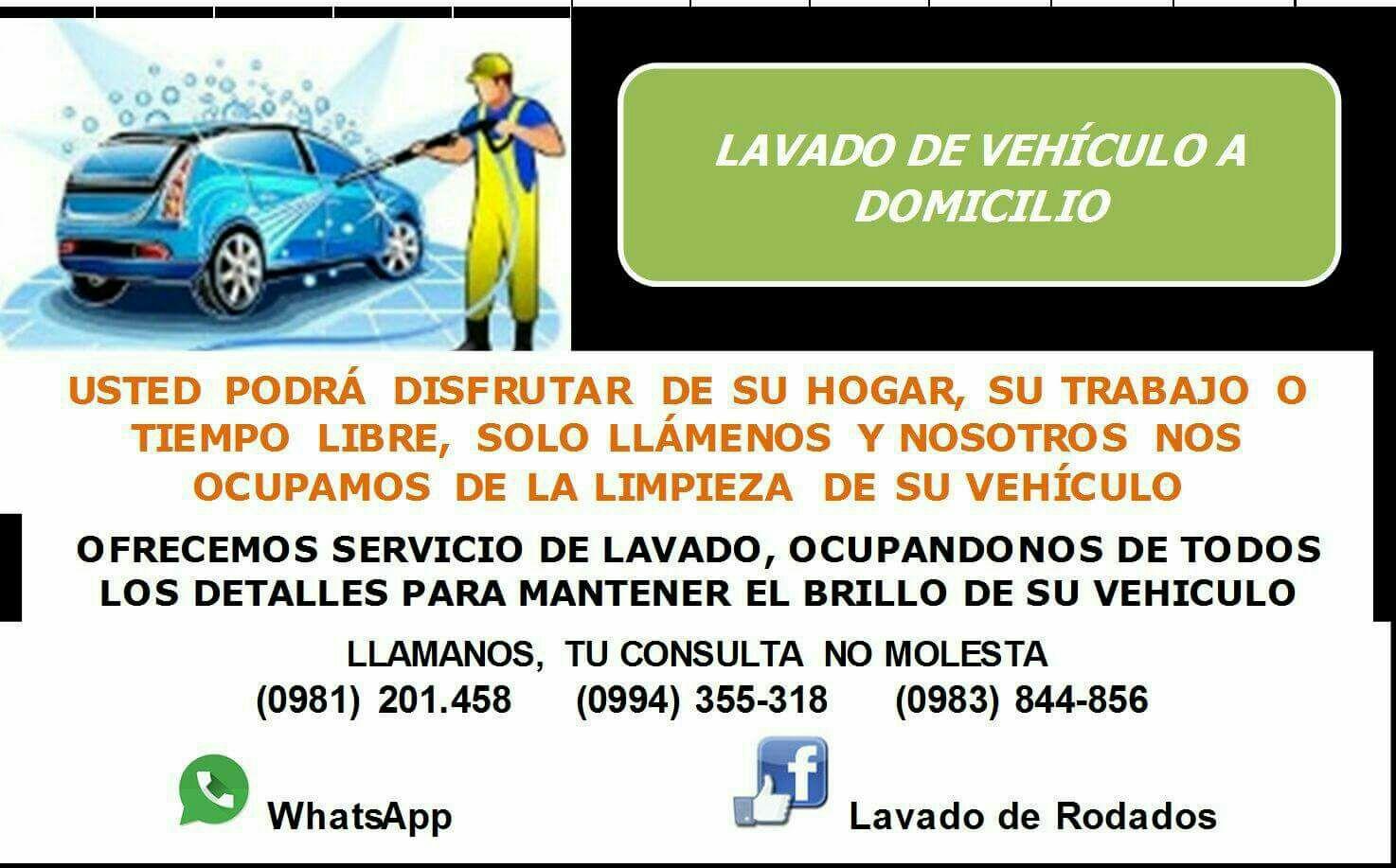 Lavado Integral de Vehiculos