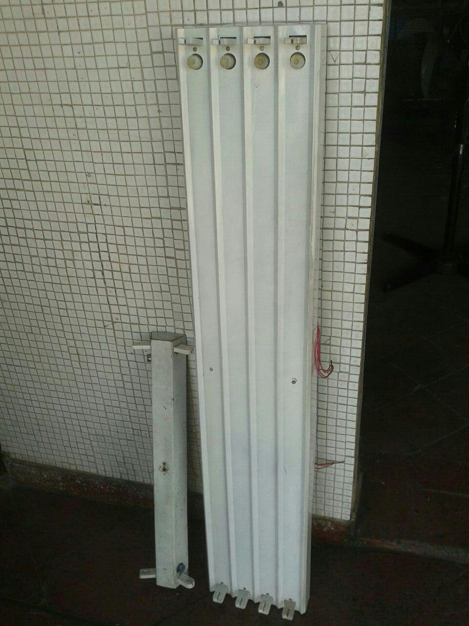 Porta fluorescente