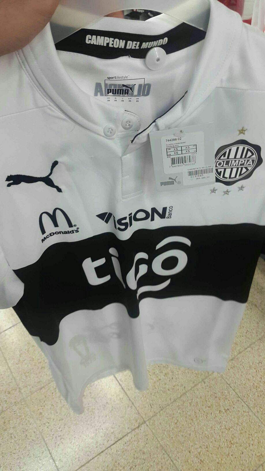 Camiseta de Olimpia Puma Talle P