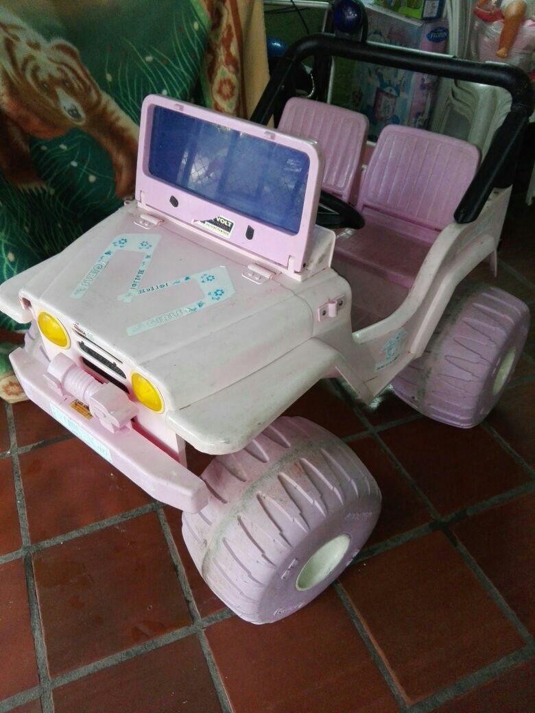 jeep niña doble asiento