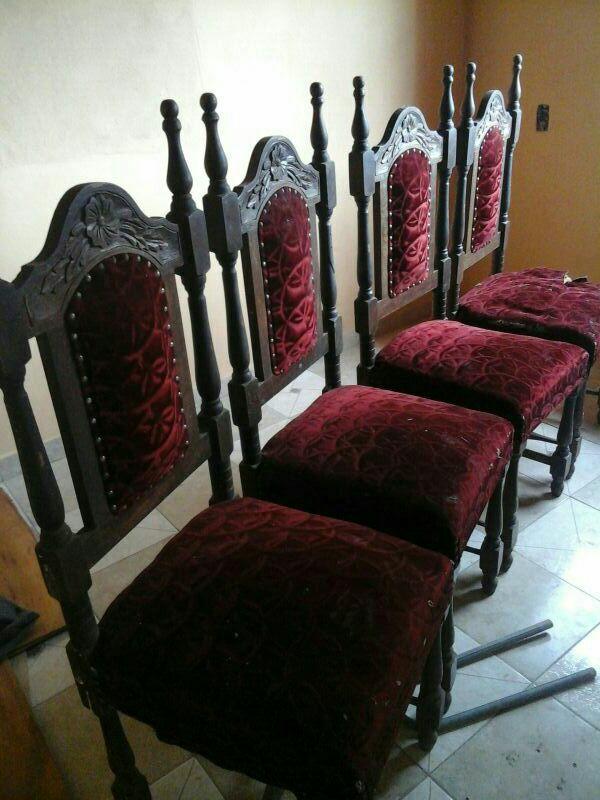 Sillas para comedor y silla para oficina