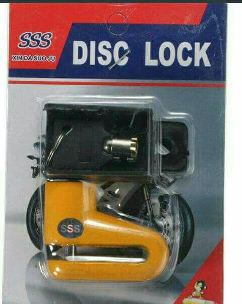 Anti robo para moto para freno disco