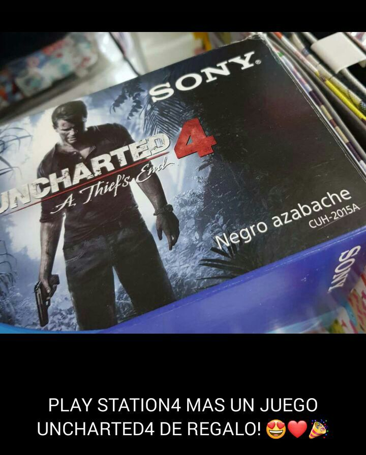 Play Station 4 de 500 gb
