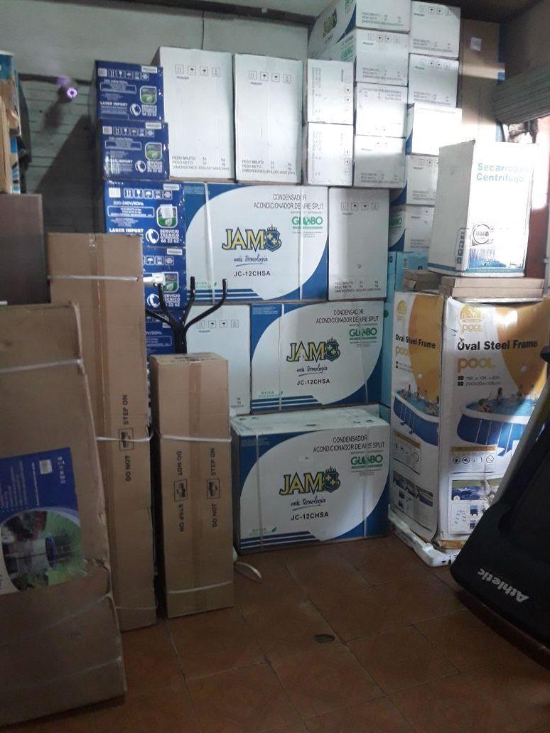 Aire acondicionado jam de 12.000 btu nuevo en caja con 1 año de garantía