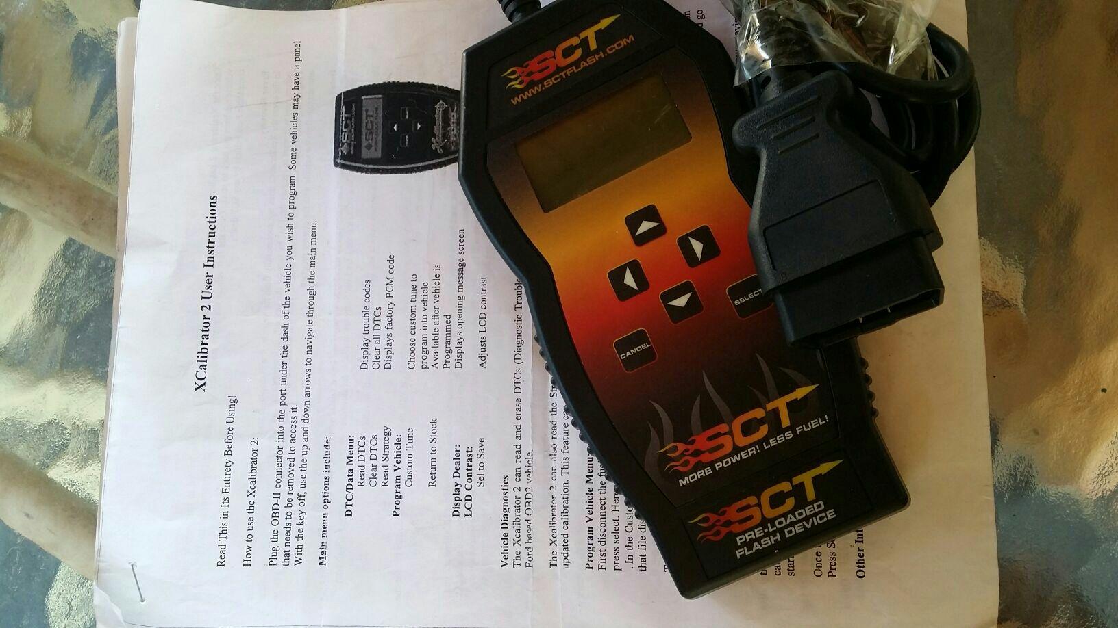 Scanner calibrador para autos