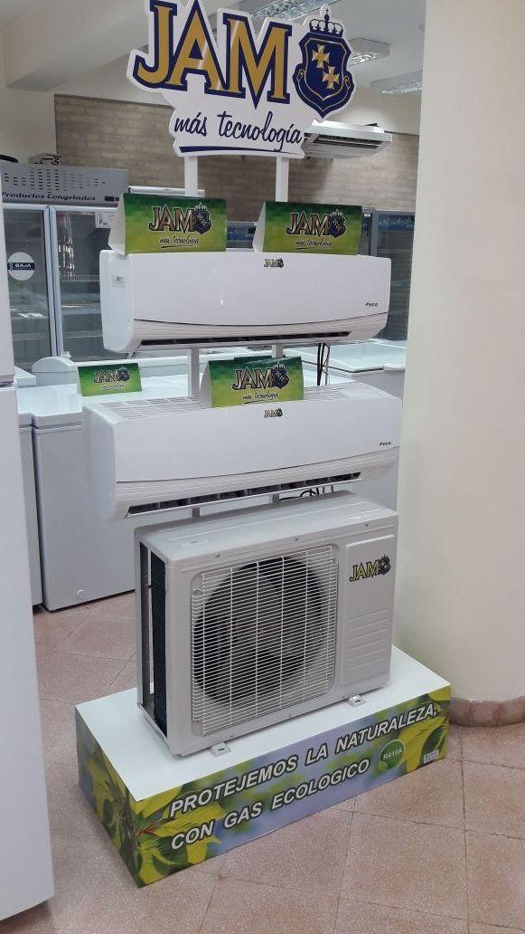 Aire acondicionado split jam de 12.000 btu con gas ecológico