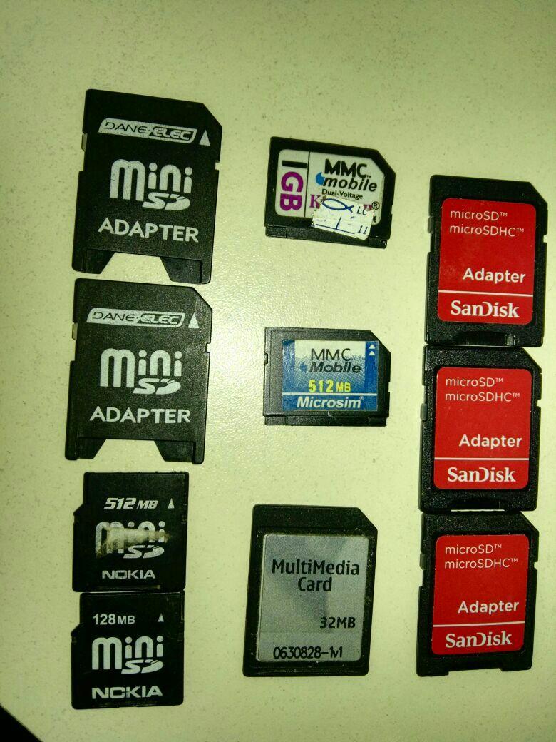 Memory card de colección