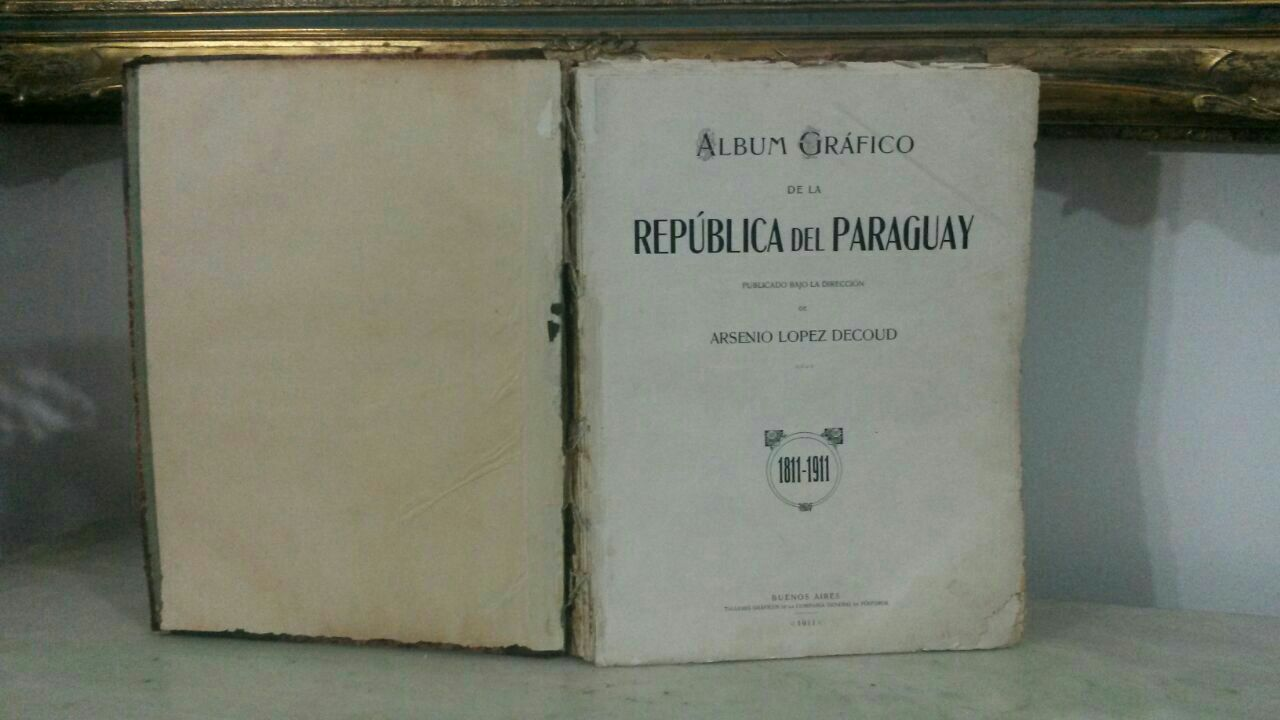 Libro de historia de Paraguay 1912