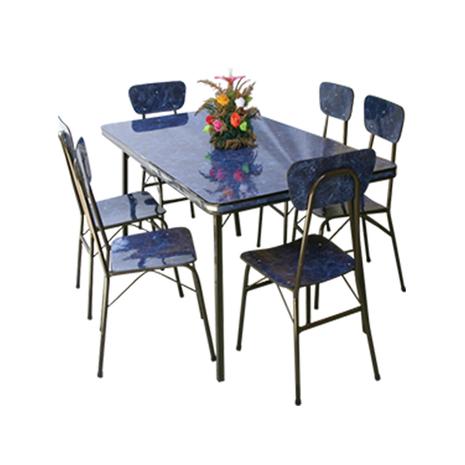 Juego de comedor 6 sillas form - 0