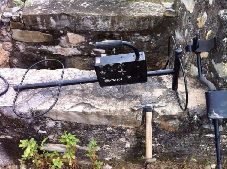 Detector de tesoro hasta 6 metros bajo tierra