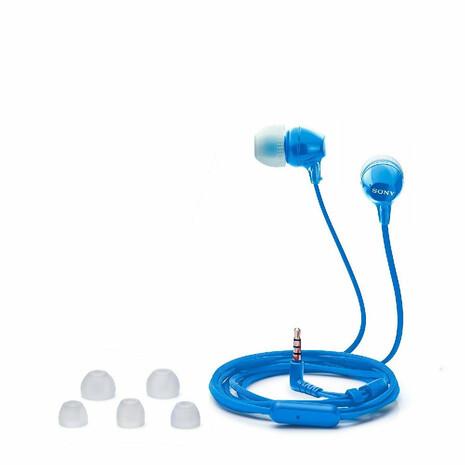 Auricular Sony Mdr Ex15 Ap Blue - 0