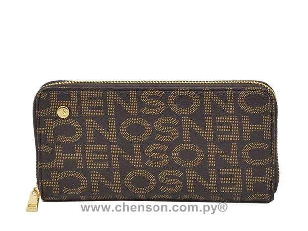 Billetera Chenson Con Letras - 0