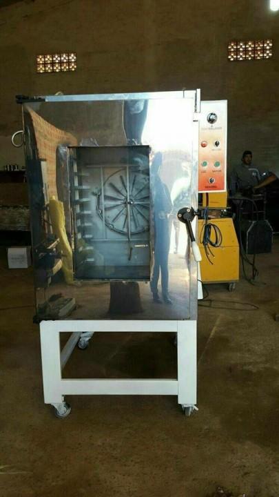 Horno de 10 bandejas turbinado