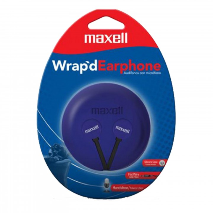 Maxell stereo Wrap'd