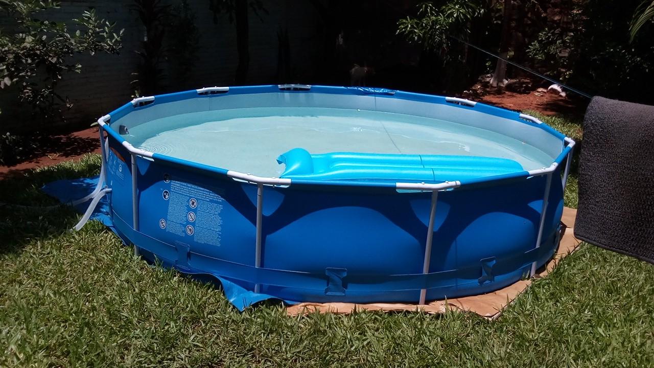 piscina americana bestway de 6500 litros con filtro motor