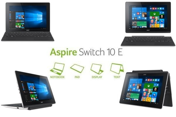 Notebook Acer aspire switch 10