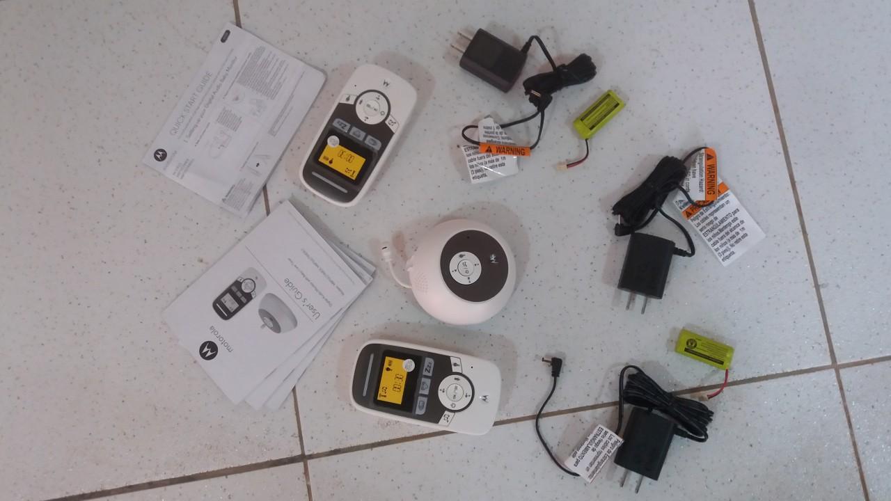Audio Monitor para bebé Motorola