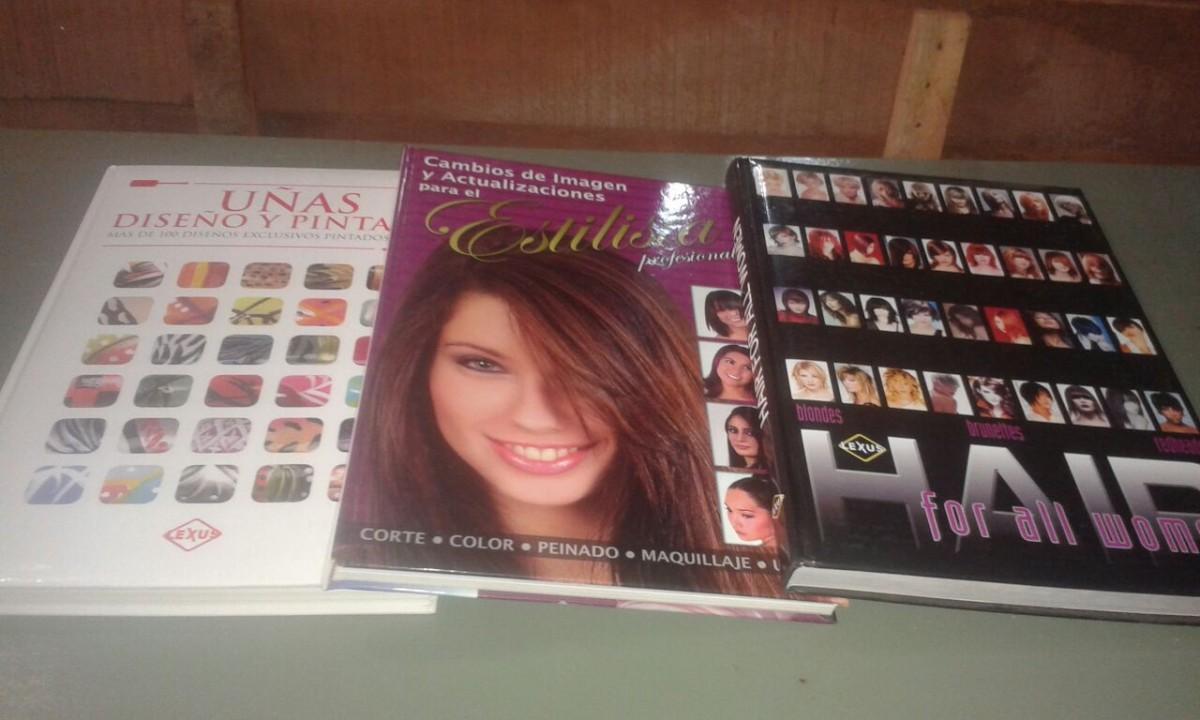 Libro de peluquería uñas y peinados