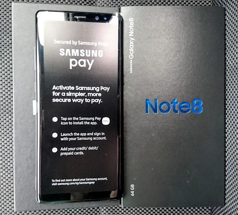 Samsung Galaxy Note 8 libres y nuevos