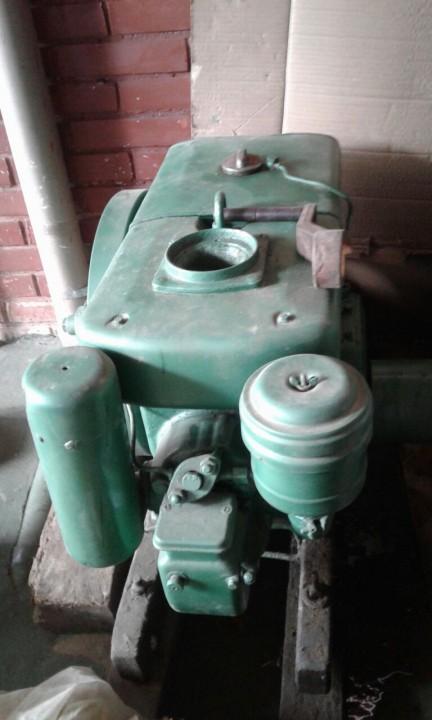 Motor diésel Yanmar de 9 hp