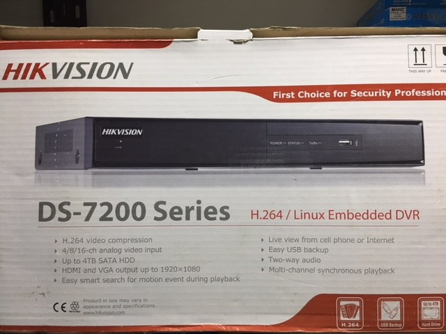 DVR Hikvision DS-7200 series